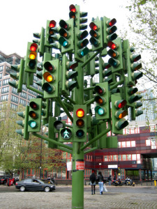 Traffic Light Tree (Pierre Vivant)
