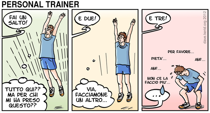 Personal trainer / 1